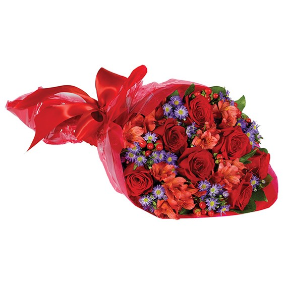 """I Love You"" hand-tied flower bouquet (BF260-11KL)"
